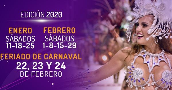 Fechas del Carnaval de Gualeguaychú 2020