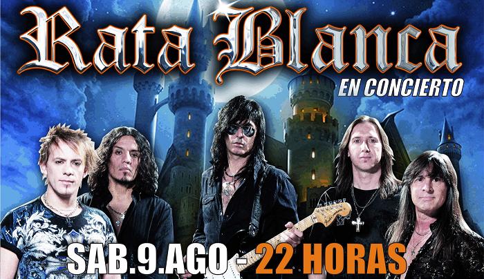 """Rata Blanca"" llega a Gualeguaychú"