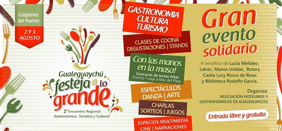 2° Encuentro Regional Gastronómico, Turístico y Cultural Gualeguaychú