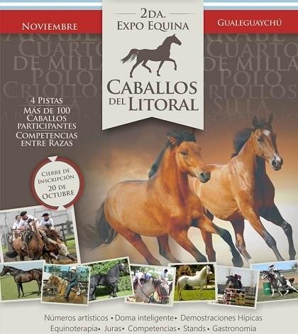 "Expo Equina ""Caballos del Litoral"" en Gualeguaychú"