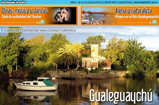 Revista 'Destino Gualeguaychú' agosto 2014