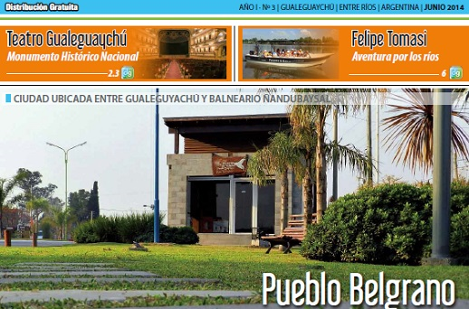 Revista 'Destino Gualeguaychú' junio 2014